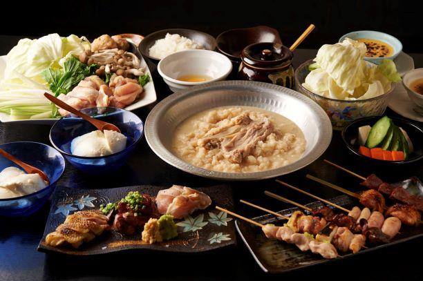 新宿にある鶏料理専門の居酒屋「酉一途」のメニュー