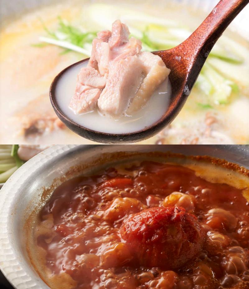 酉一途 西新宿店の水炊き鍋